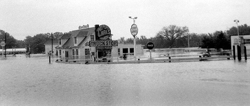 1956 Farmer City Flood