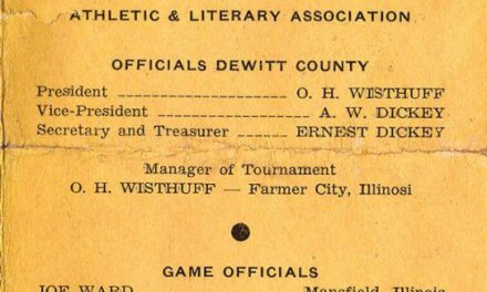 1940 DeWitt Co. Basketball Tournament