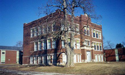 Bellflower School Razed